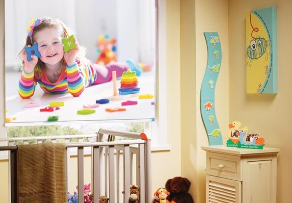 چاپ پرده اتاق کودک