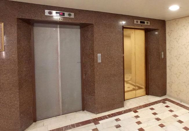 برچسب درب آسانسور